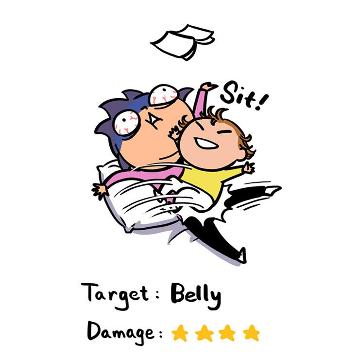 Cómo-a-2-años-viejo-puede-herir-el-Messycow-comics-11