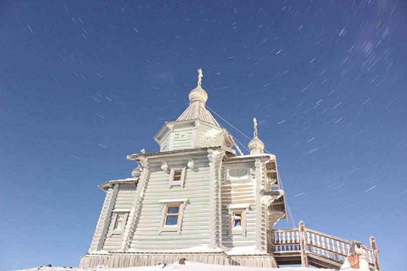 Existem sete igrejas cristãs na Antártida