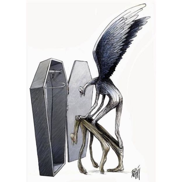 satire-political-cartoon-illustration-angel-boligan-5bd1af8e3d7bb__700 What's Wrong With Today's Society Captured In 25+ Brutally Honest Illustrations By Angel Boligan Art Design Random