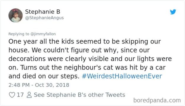 1057283046007664640-png__700 20+ People Share Their Weirdest Halloween Stories Design Random