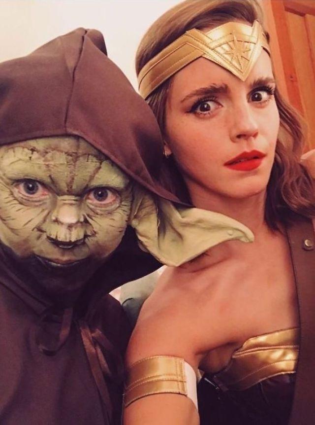 Emma Watson como Wonder Woman