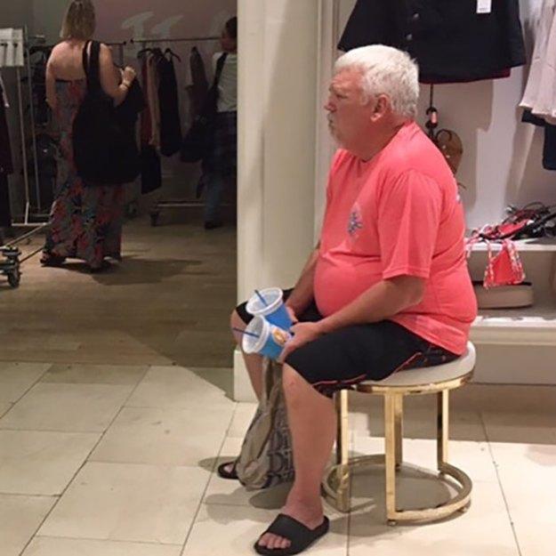 funny-miserable-men-shopping-photos-108-5bff9cb80c00e__700 86 Funny Photos Of Men Shopping With Their Ladies Design Random
