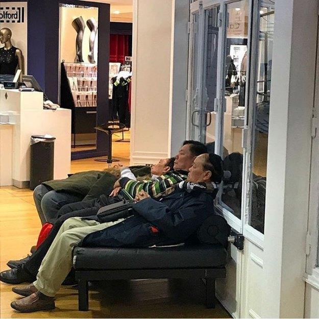 funny-miserable-men-shopping-photos-177-5bff9d5028b3b__700 86 Funny Photos Of Men Shopping With Their Ladies Design Random
