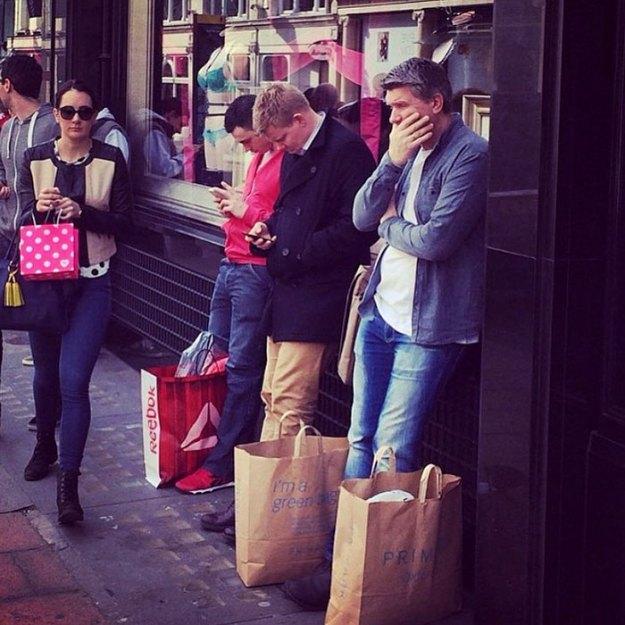 funny-miserable-men-shopping-photos-184-5bff9d622a0c9__700 86 Funny Photos Of Men Shopping With Their Ladies Design Random