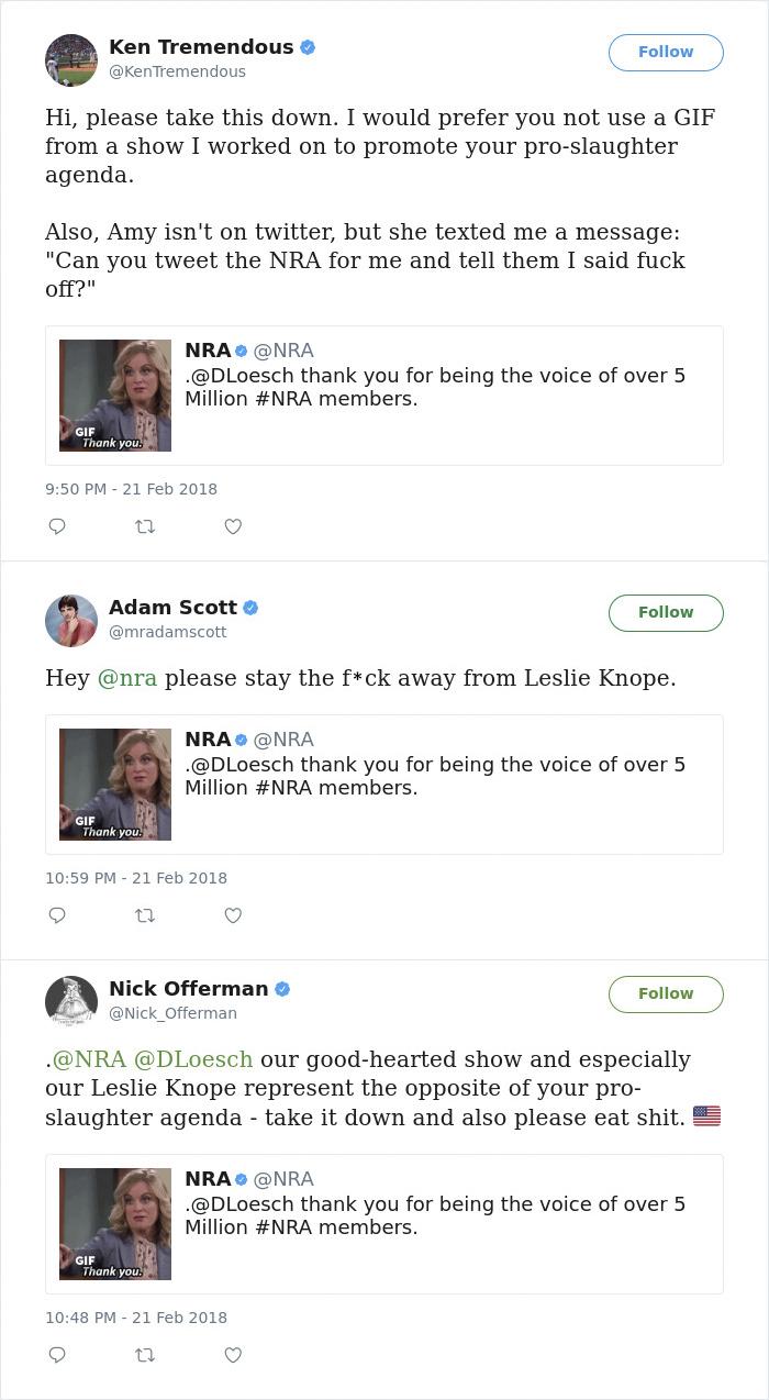 Reacciones de Gun-Control-America