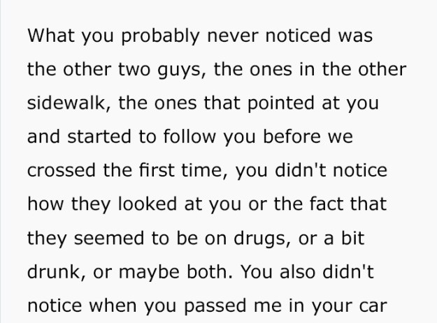 guy-follows-woman-writes-anonymous-letter-5-5bee7e9d5829d-png__700 Man Who Followed A Woman To Her Car Wrote An Anonymous Letter That'll Give You Chills Design Random