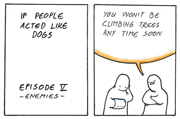 if-people-acted-like-dogs-comics-martin-rosner-5bdff5611e017__700 8 Hilariously Accurate Comics That Show What Would Happen If People Acted Like Dogs Design Random