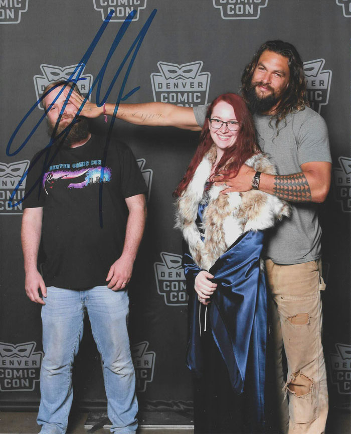 I Told My Husband I Wanted A Picture Alone With Jason Momoa, But He Wasn't Comfortable With That