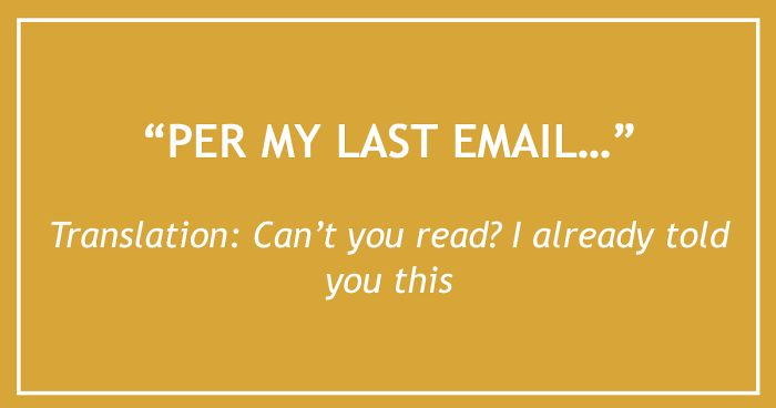 26 email phrases that