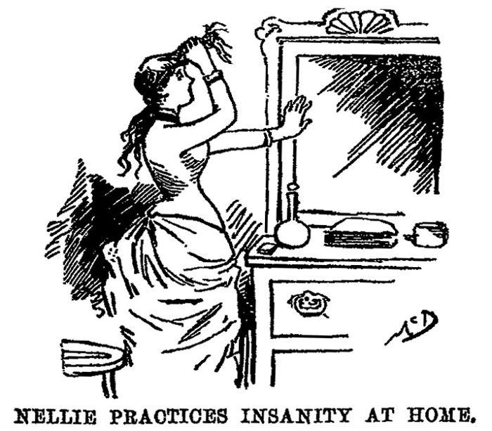 19th Century Journalist Locked Herself In An Asylum And