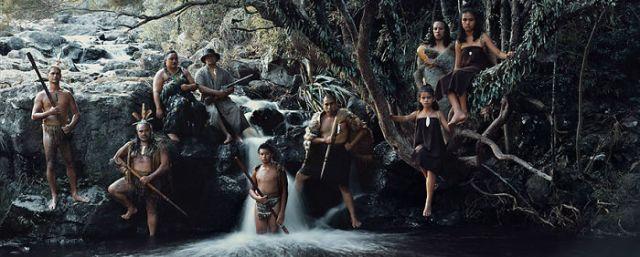 Te Aroha Mikaka & Bahía de las islas, Cataratas Haruru, Isla Norte, Nueva Zelanda