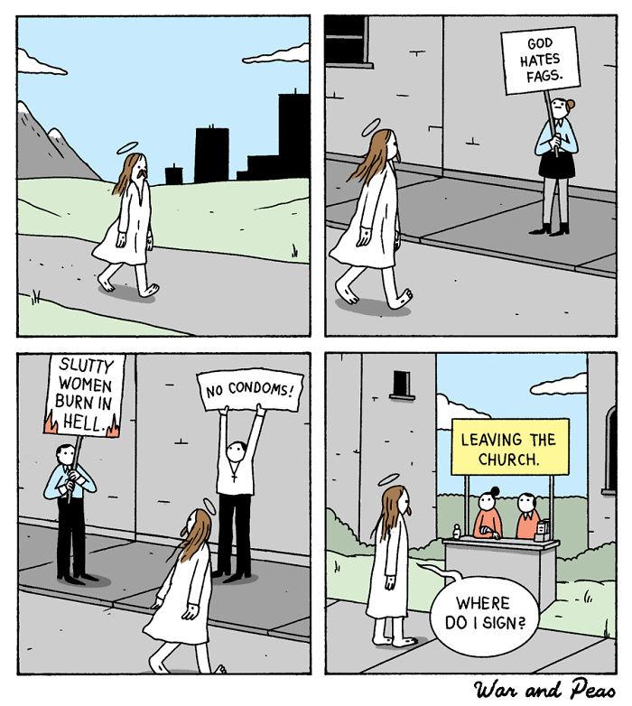 Funny-Comics-War-And-Peas