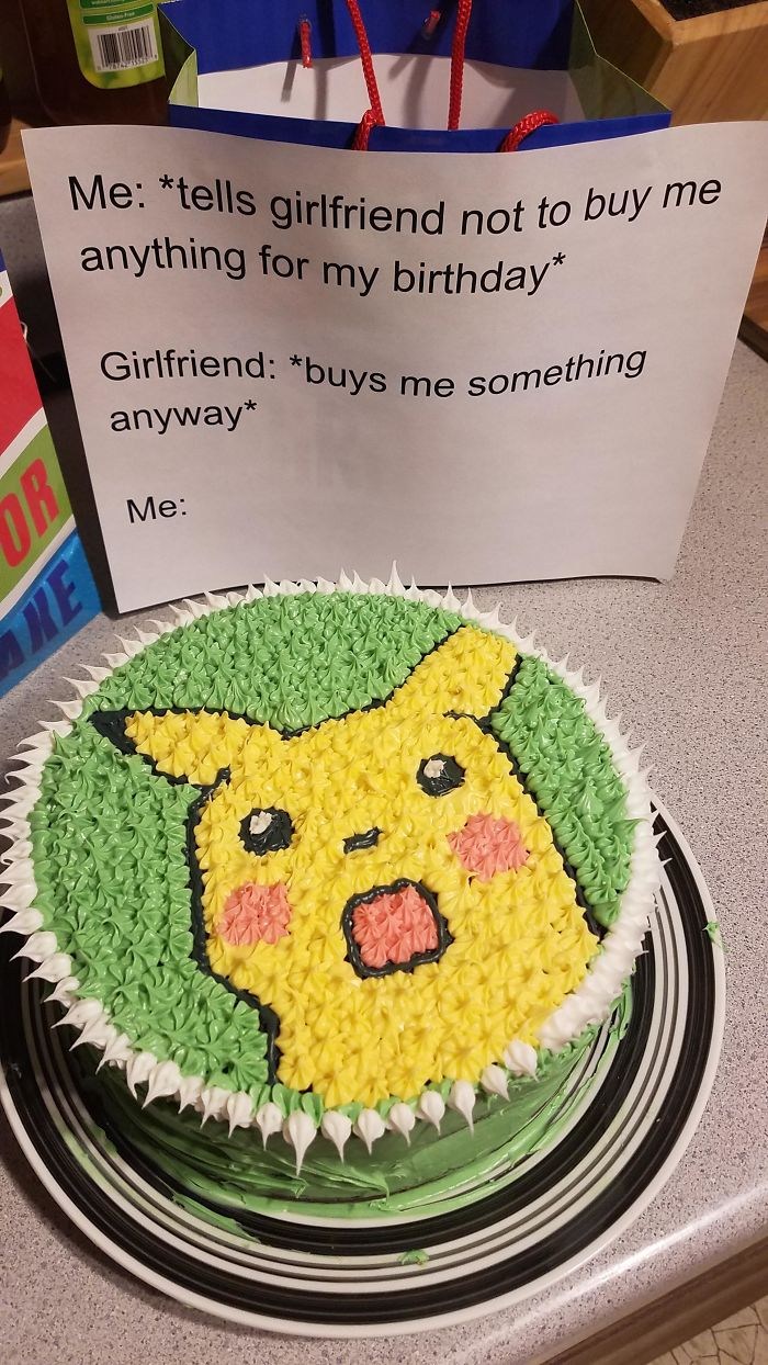 I Made My Boyfriend A Cake For His Birthday