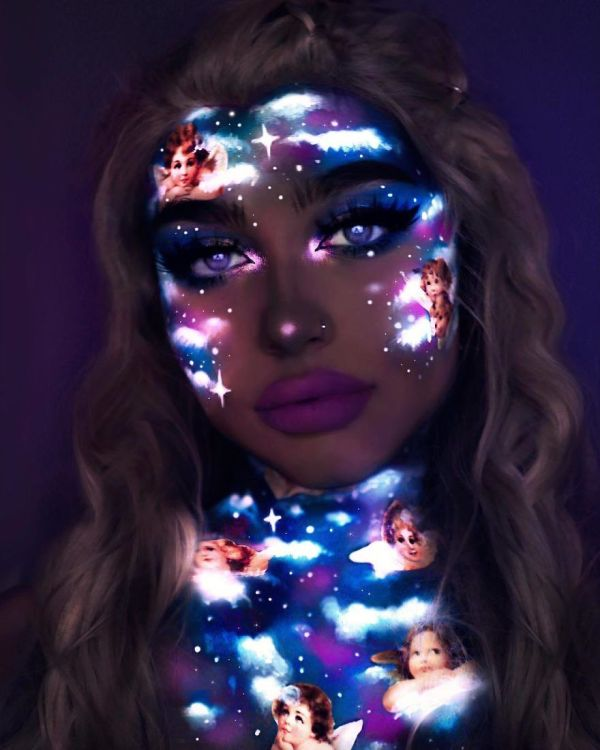 Makeup Uv Paint And Light Create Glow-in