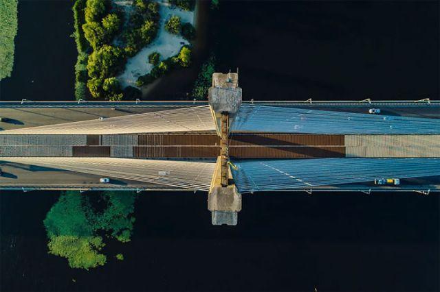 Puente nuevo en Ucrania, por Maxwebb