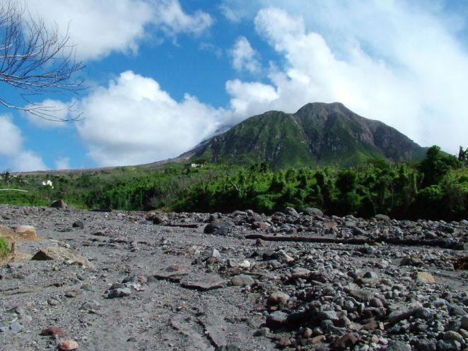 Beautiful, But Dangerous Soufriere Volcano