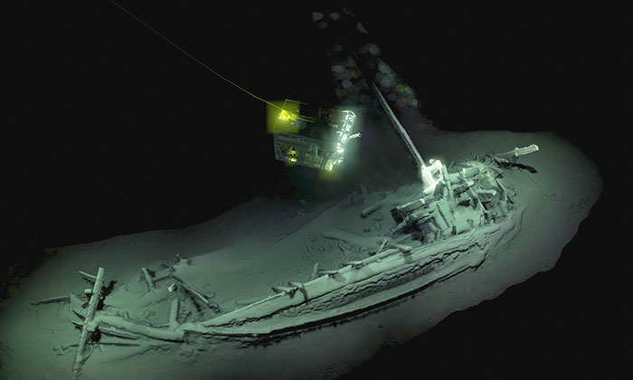 Oldest Shipwreck Found In The Bottom Of Black Sea