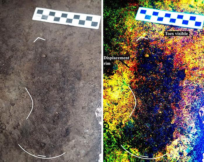 Oldest Human Footprint