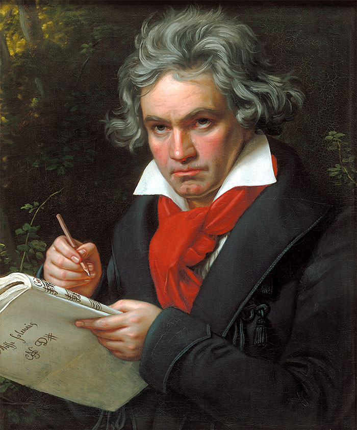 Ludwig Van Beethoven And The 60 Coffee Beans