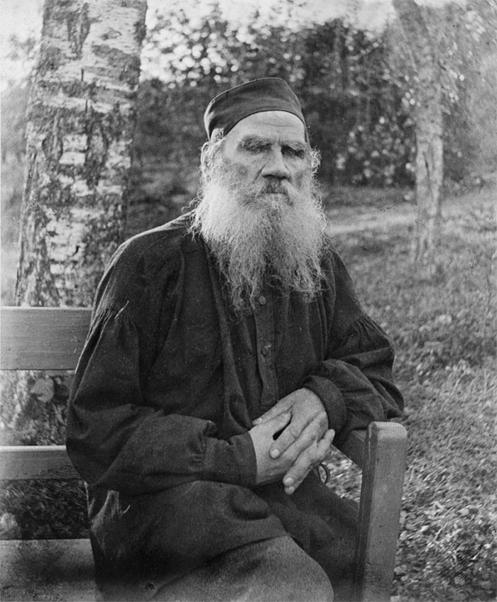 Leo Tolstoy And His Shoes