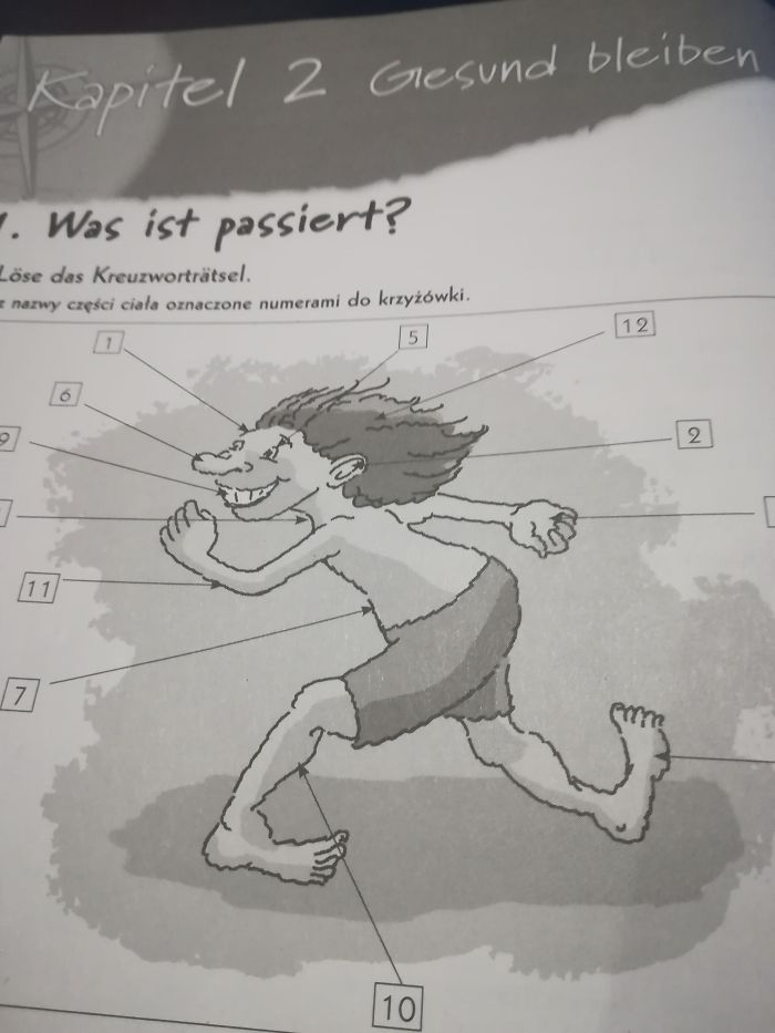 I Was Helping My Cousin With His German Homework And I Saw This Masterpiece