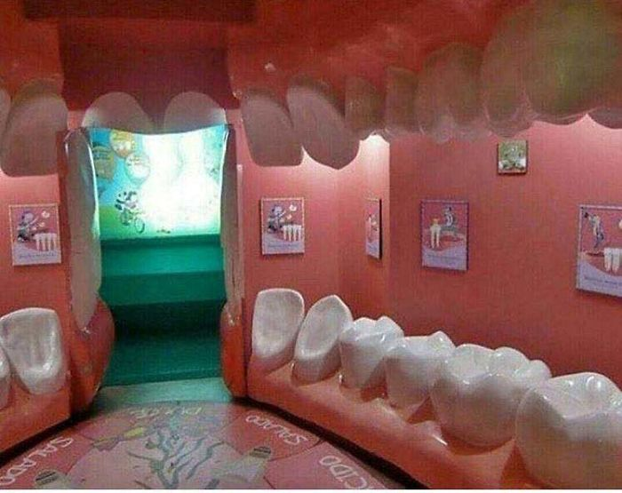 This Dentist's Waiting Room