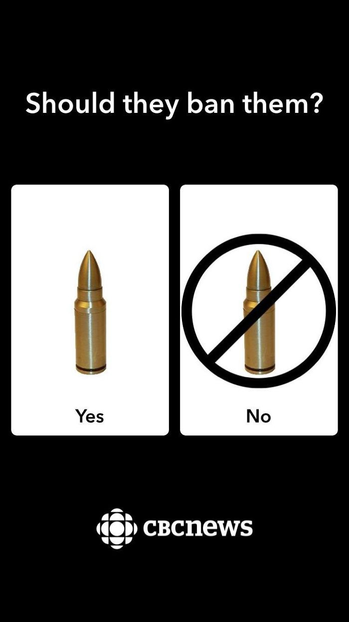 This Poll On Whether Semi Automatic Rifles Should Be Banned
