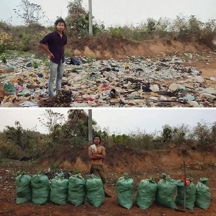 #trashtag Seems To Be Trending. This One's From Nepal 🇳🇵