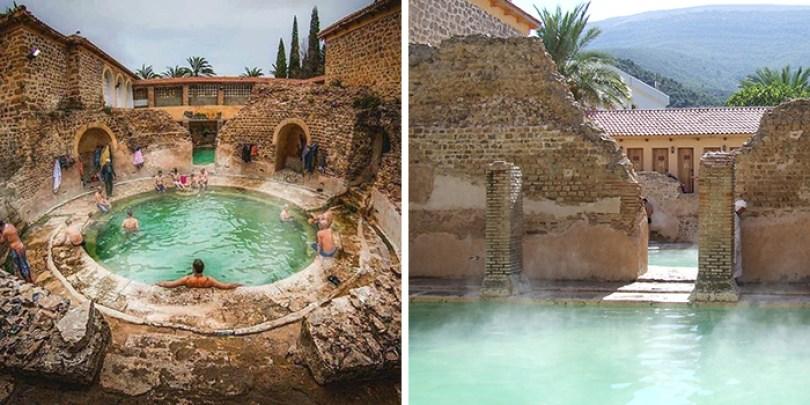 hammam essalhine roman bathhouse khenchela algeria 8 - Balneário romano construído mais de 2.000 anos atrás ainda está funcionando