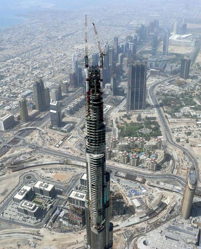 Burj Khalifa In Dubai, United Arab Emirates