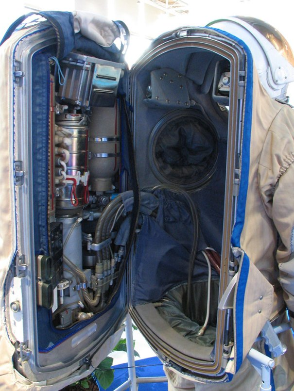 The Inside Of A Space Suit