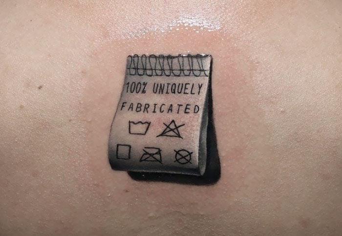 Small Realistic Tattoo