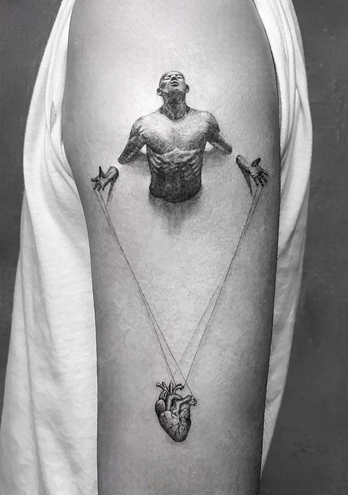 Amazing Realistic Tattoo Artwork