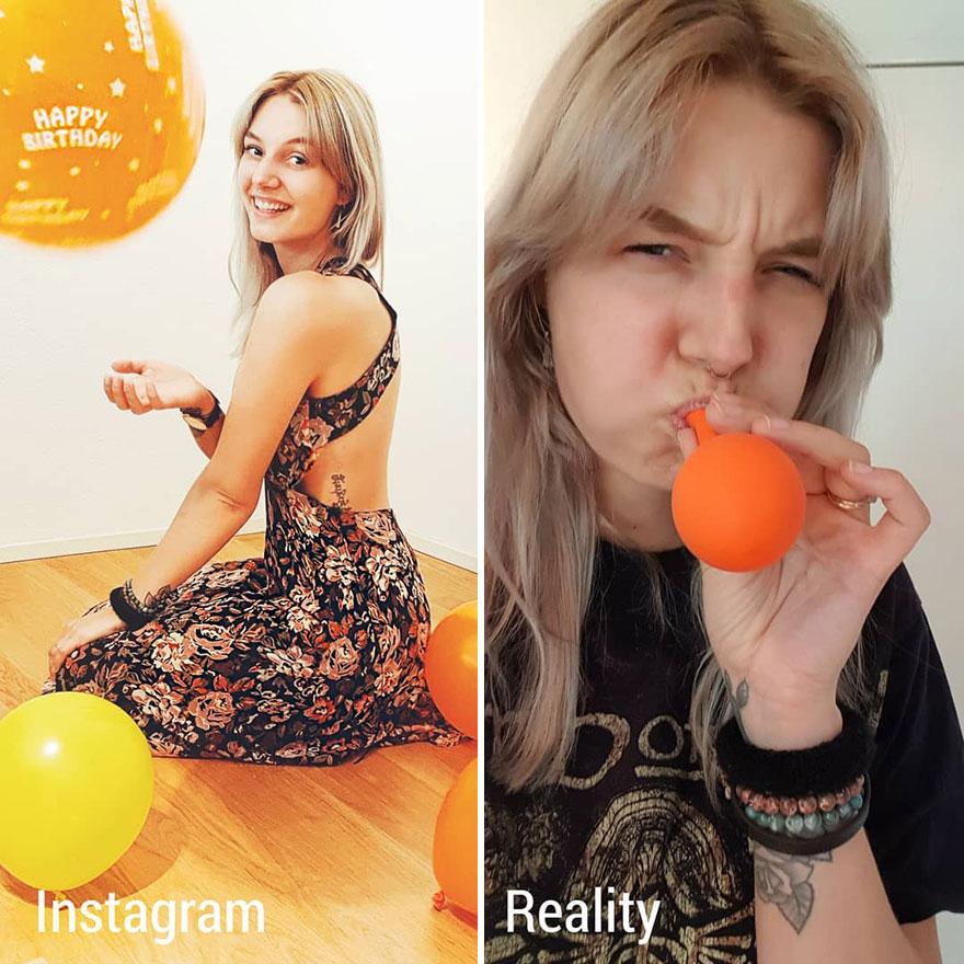 Girl Shows Instagram Vs  Reality In 20 Pics | Best Ten News