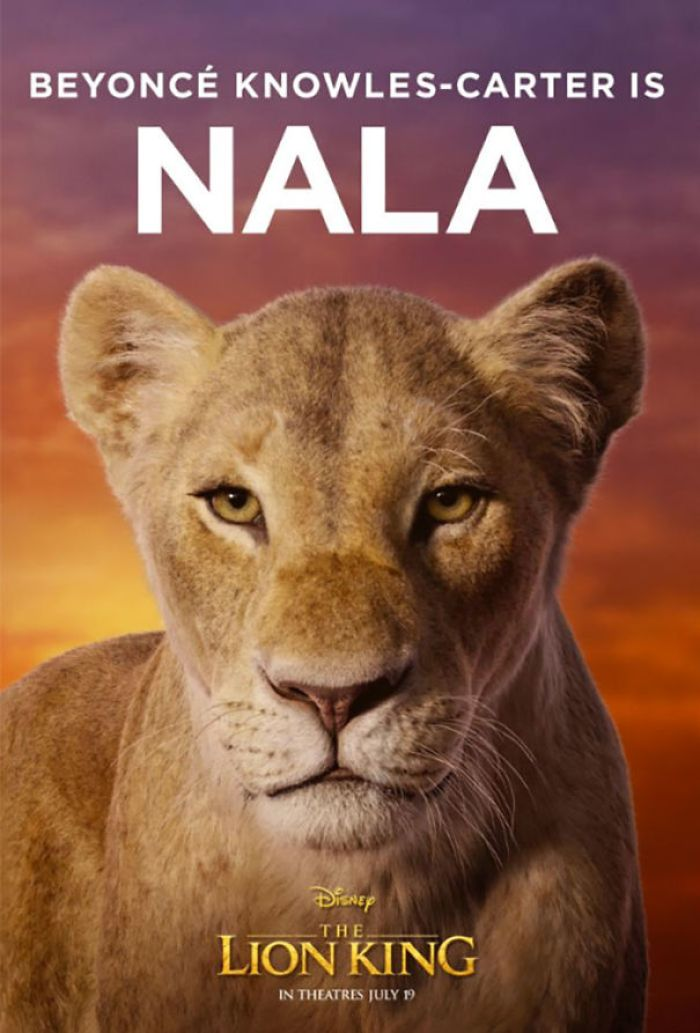 Disney Reveals Posters For 11 Main Characters In The New Lion King Movie 4