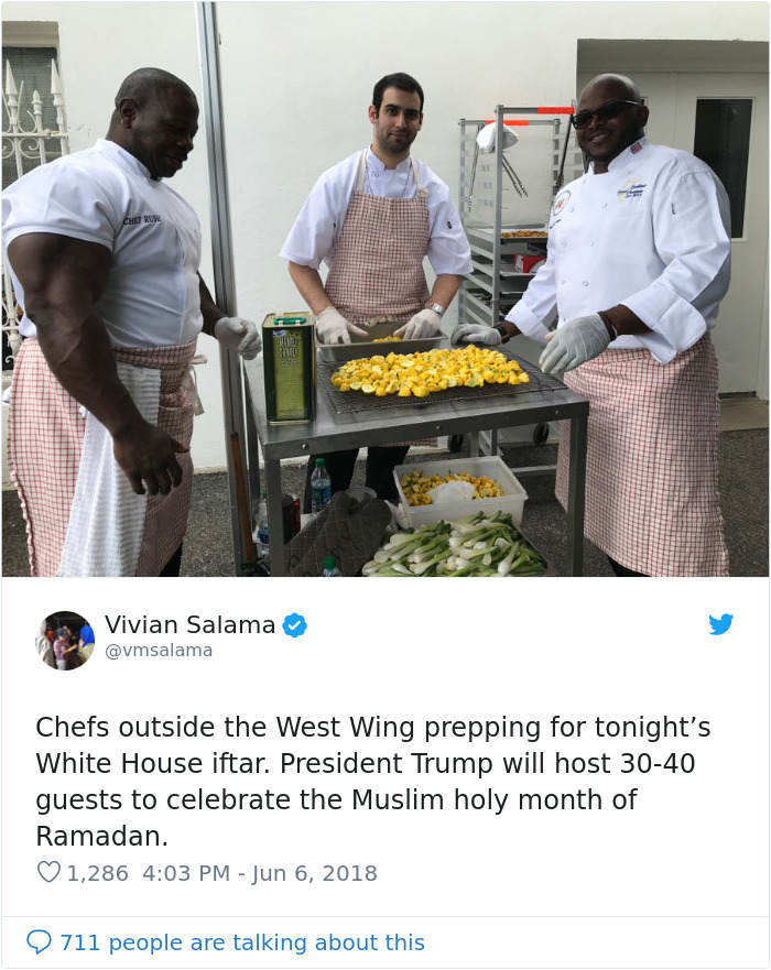 People Notice That This White House Chef Is Something Way Out Of The Ordinary, Even Start A Photoshop Battle 3