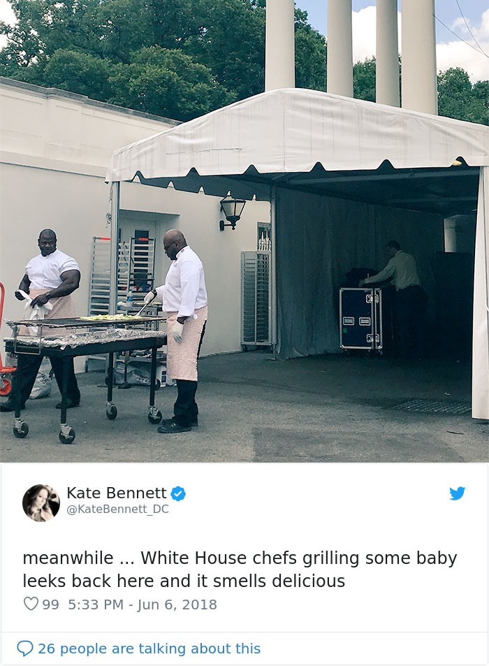 People Notice That This White House Chef Is Something Way Out Of The Ordinary, Even Start A Photoshop Battle 6