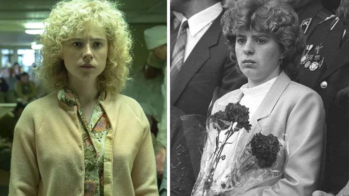 Jessie Buckley As Lyudmila Ignatenko, Vasily's Wife
