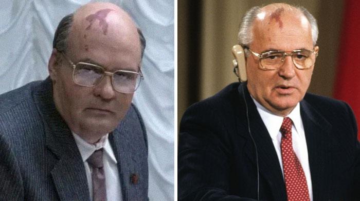 David Dencik As Mikhail Gorbachev