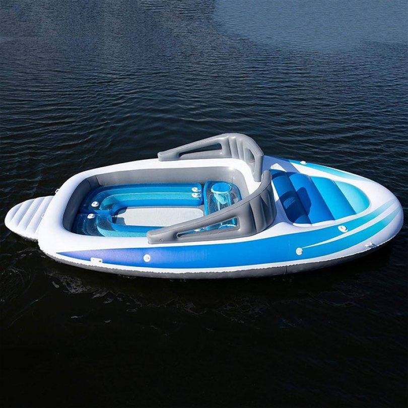 inflatable speedboat life size amazon 3 5d0346a171c13  700 - Lancha inflável faz você se sentir um milionário