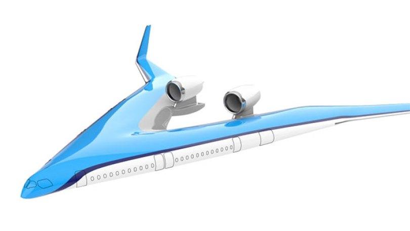 new shape flying v plane studio oso 5cf62643a2304  700 - Avião de passageiros projetado por estudante economiza 20% de combustível