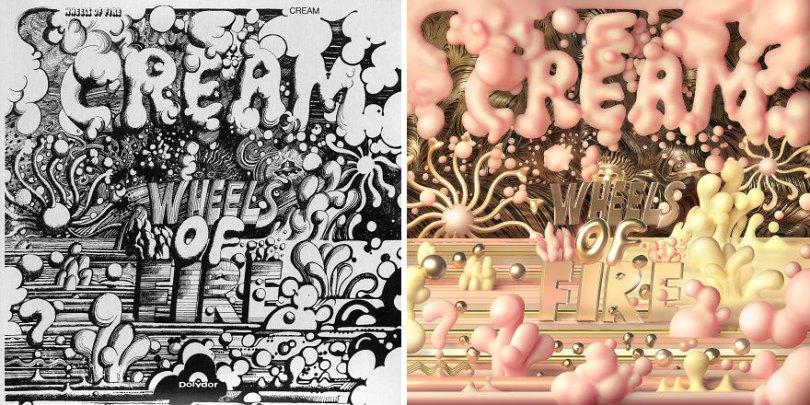 Rock ReCover Project recreating 10 classic rock cover albums 5d2d9fe3f2e80  880 - Rock Recover Project: 10 capas de álbuns clássicos de rock
