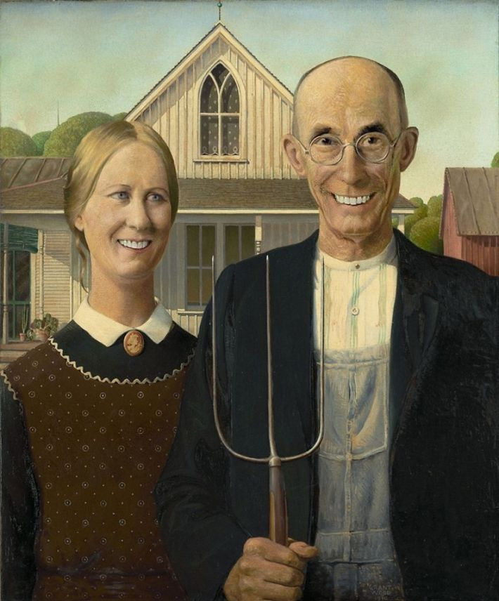 We Made Smiles To Famous Paintings
