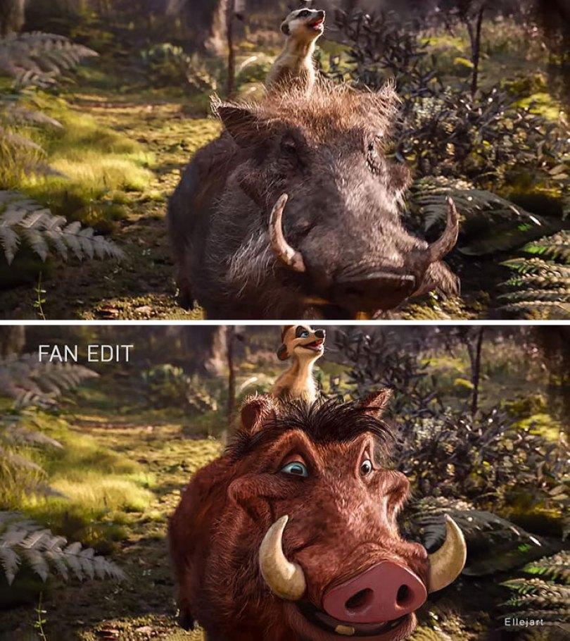 Pumbaa e Timon