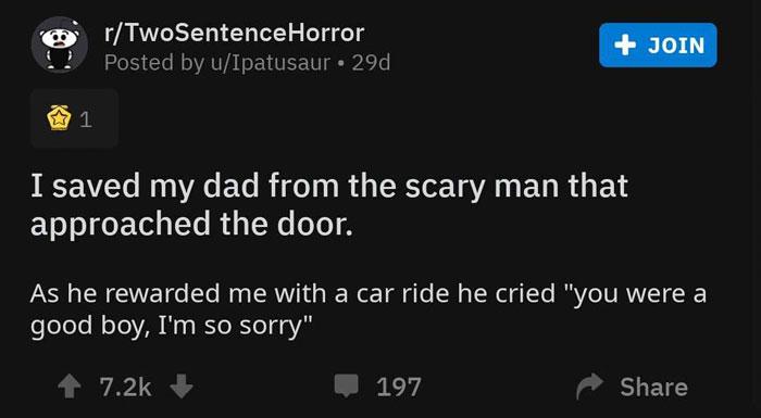 Two-Sentence-Horror-Stories