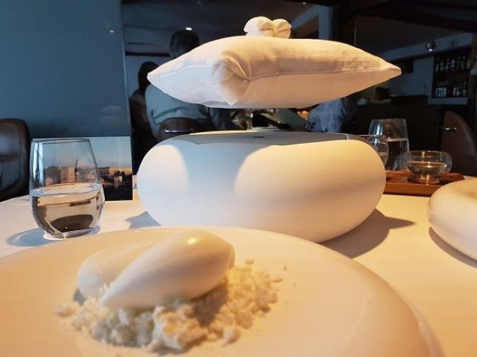 A Meringue Served On A Magnetically Levitated Pillow