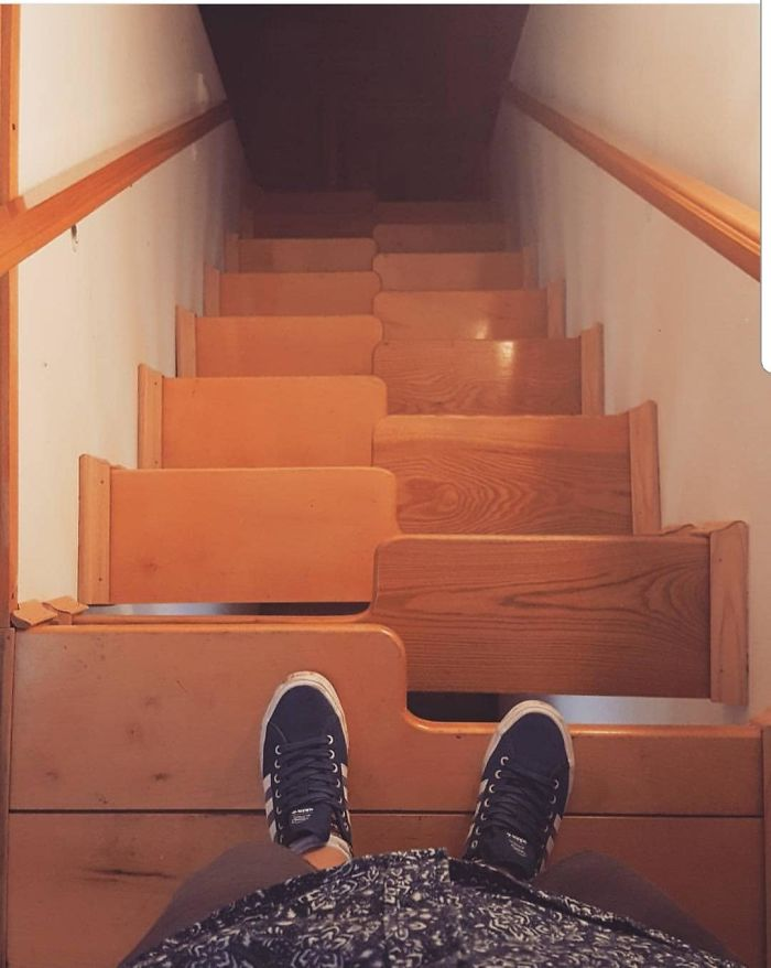 You Don't Have To Be Drunk To Fall Down These Stairs