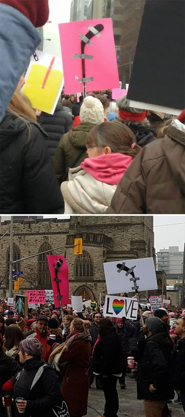 A Sign You're Marching In Canada