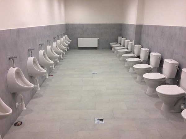 This School Just Renovated The Toilets At Their Gym