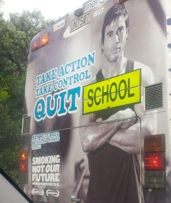This School Bus Ad
